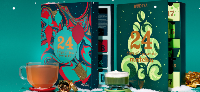 2020 David's Tea Advent Calendars Available Now + Full Spoilers!