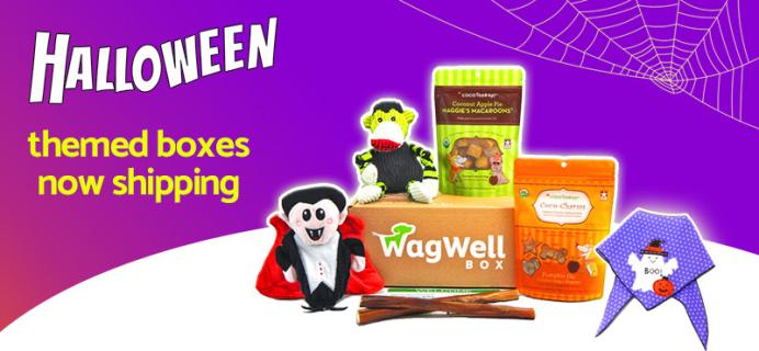 WagWell Box Coupon: Get 25% Off + Guaranteed Halloween Themed Box!