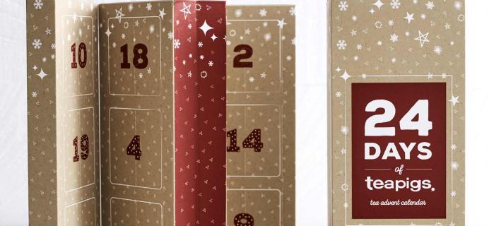 2020 TeapigsTea Advent Calendar Available Now + Full Spoilers!