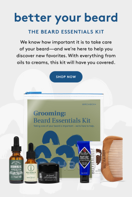The Beard Essentials Kit – New Birchbox Grooming Kit Available Now + Coupons!