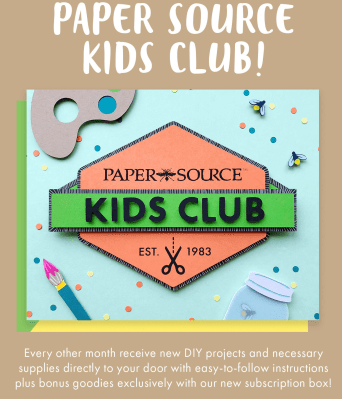 NEW Paper Source Kids Club Available Now + November 2020 Spoilers!