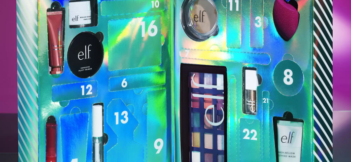 2020 elf Cosmetics ELF-STRAVAGANZA 24 Day Advent Calendar Available Now + Full Spoilers!