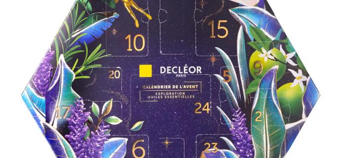 2020 DECLÉOR Advent Calendar Available Now + Full Spoilers!
