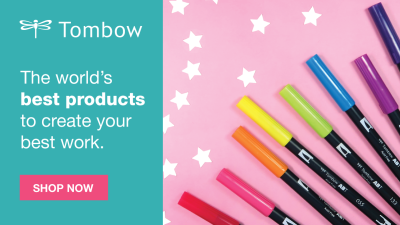 Tombow International Artist Day Flash Sale: Get 30% Off!