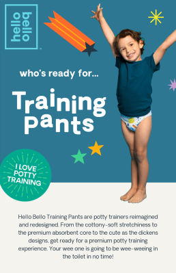 Hello Bello Training Pants Available Now + Coupon!