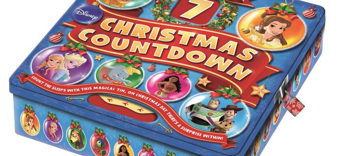 2020 Disney Christmas Countdown Advent Calendar Available Now!