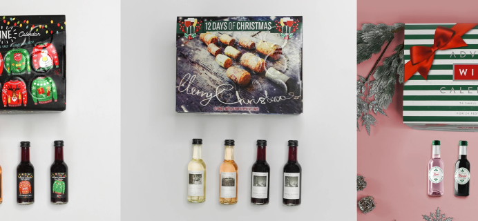 2020 Sip & Savor Wine Advent Calendars Available Now + Coupon!