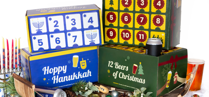 2020 City Brew Tours Beer Advent Calendars Available Now!