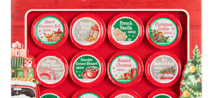 2020 World Market Coffee Pods Advent Calendar Available Now!
