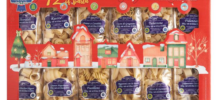 2020 Il Vecchio Pastificio Di Gragnano Pasta Advent Calendar Available Now!