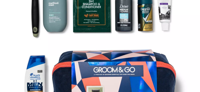 Target Beauty Box Men's Edition Groom and Go Holiday Kit Available Now!