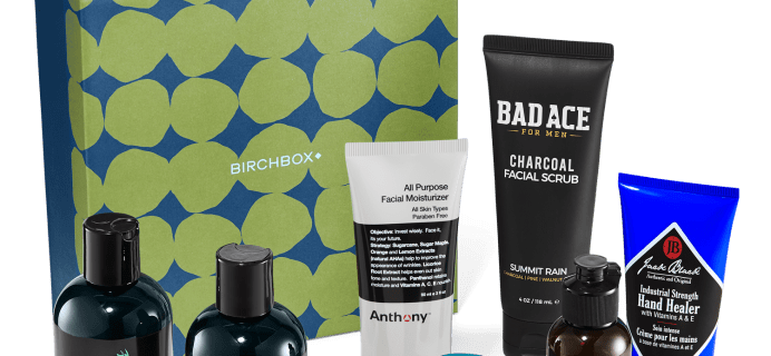 New Birchbox Grooming Limited Edition Box:  Best of Grooming Gift-Box Available Now + Coupons!
