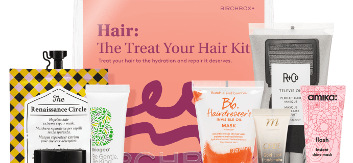 The Treat Your Hair Kit – New Birchbox Kit Available Now + Coupons!
