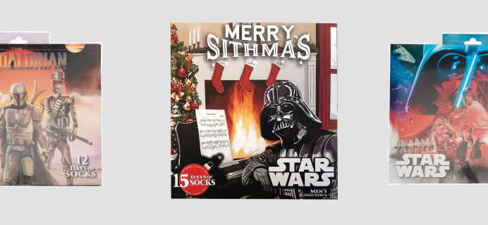 2020 Star Wars Socks Advent Calendars Available Now! {Men's}
