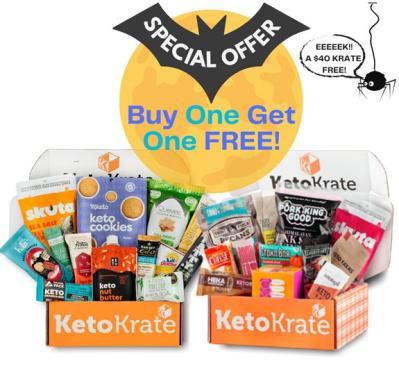 KetoKrate Halloween Sale: Buy One, Get One FREE!