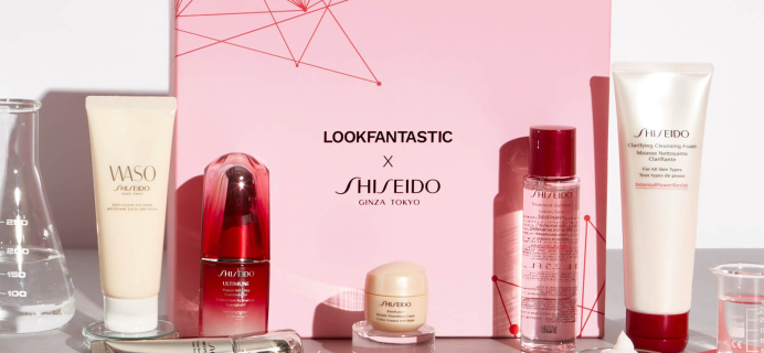 Lookfantastic x Shiseido Limited Edition Beauty Box Available Now + Full Spoilers!