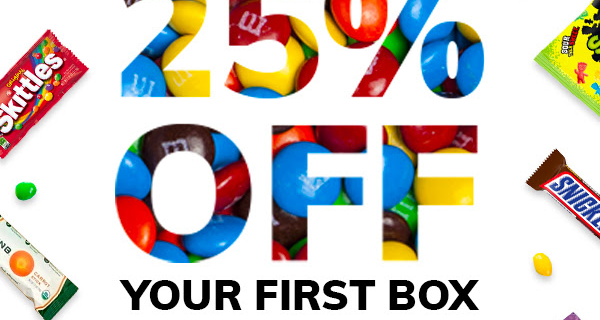 Cratejoy Sale: Save 25% on Sweets & Snacks Boxes!