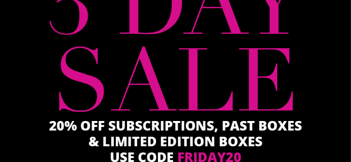 Cocotique Pre Black Friday Sale: Get 20% Off All New Subscriptions, Past Boxes, & Limited Edition Boxes!