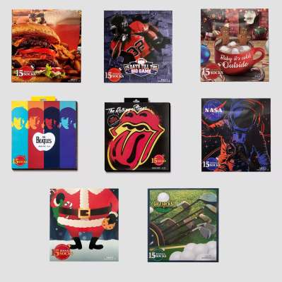 More 2020 Target Socks Advent Calendars Available Now! {Men's}