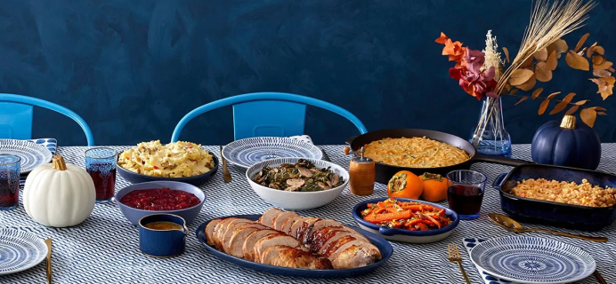 Blue Apron Thanksgiving Meal Feast Available Now + $80 Off Coupon!