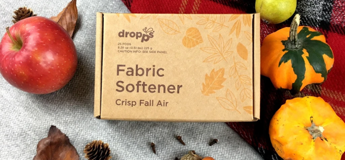 Dropps Fall Sale: Get Up To 40% Off On Fall Scent Fabric Softener Pods!