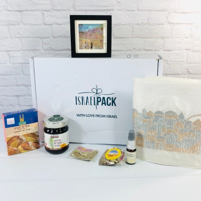 Israel Pack September 2020 Subscription Box Review + Coupon!