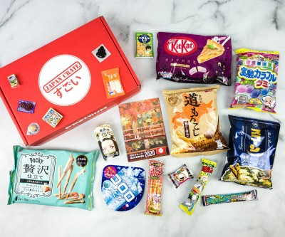Japan Crate November 2020 Subscription Box Review + Coupon