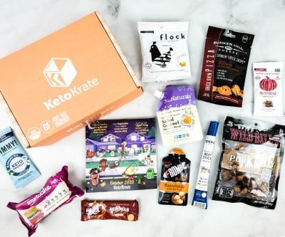 KetoKrate October 2020 Subscription Box Review + Coupon