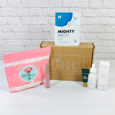 Kinder Beauty Box October 2020 Review + Coupon – IRIS