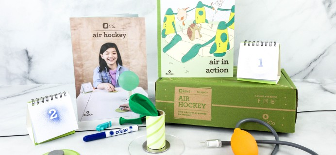 Kiwi Crate Review & Coupon – AIR HOCKEY