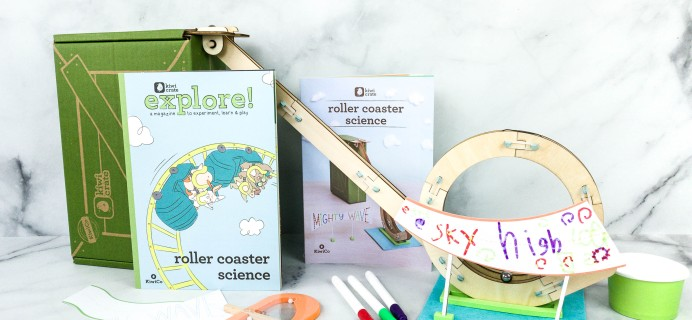 Kiwi Crate Review & Coupon – ROLLER COASTER SCIENCE