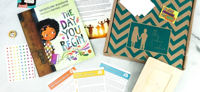 Little Justice Leaders October 2020 Subscription Box Review + Coupon
