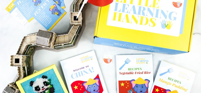 Little Learning Hands Subscription Box Review + Coupons – China