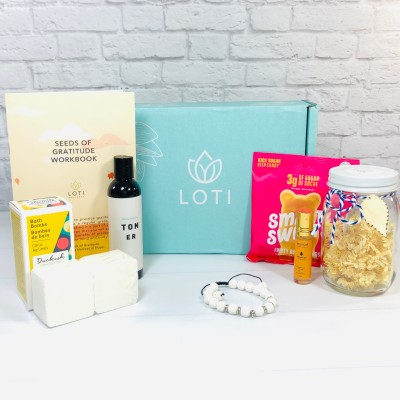 Loti Wellness October 2020 Subscription Box Review