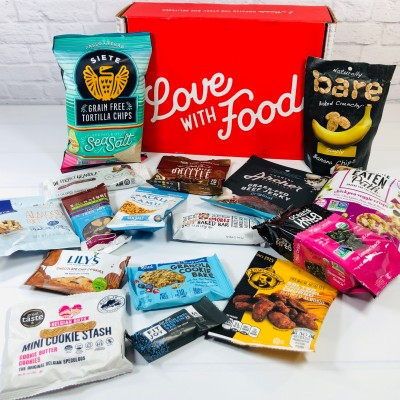Love With Food October 2020 Deluxe Box Review + Coupon!