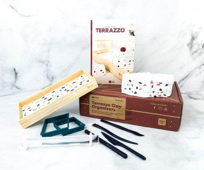 Maker Crate Review + Coupon – TERAZZO CLAY ORGANIZERS