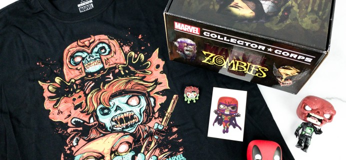 Marvel Collector Corps September 2020 Subscription Box Review – MARVEL ZOMBIES!