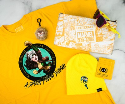 Marvel Gear + Goods September 2020 Subscription Box Review + Coupon! – YELLOW