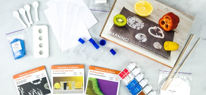 MEL Chemistry Subscription Box Review + Coupon – CHEMISTRY OF PLANTS