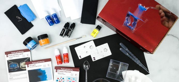MEL Physics by MEL Science Subscription Box Review – HYDROPHOBICITY