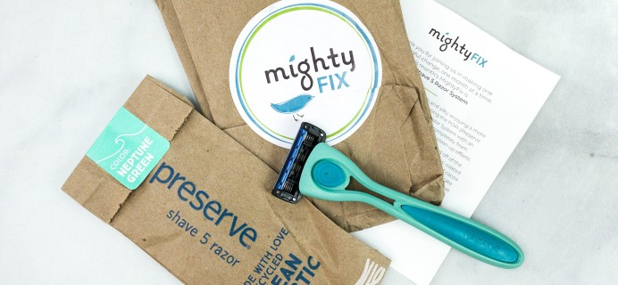 Mighty Fix September 2020 Review + First Month $3 Coupon
