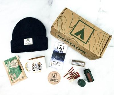 Nomadik December 2020 Subscription Box Review + Coupon