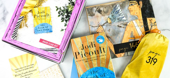 Once Upon a Book Club September 2020 Subscription Box Review + Coupon – Adult Box