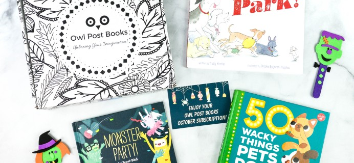 Owl Post Books Imagination Box October 2020 Subscription Box Review + Coupon