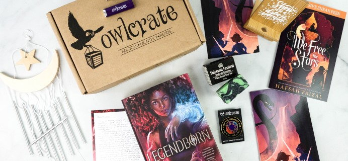 OwlCrate October 2020 Subscription Box Review + Coupon – LEGENDS & LORE
