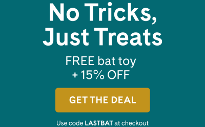 PrettyLitter Halloween Sale: Get 15% Off + FREE Toy! ENDS MIDNIGHT!