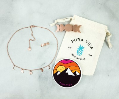 Pura Vida Jewelry Club October 2020 Subscription Box Review + Coupon!