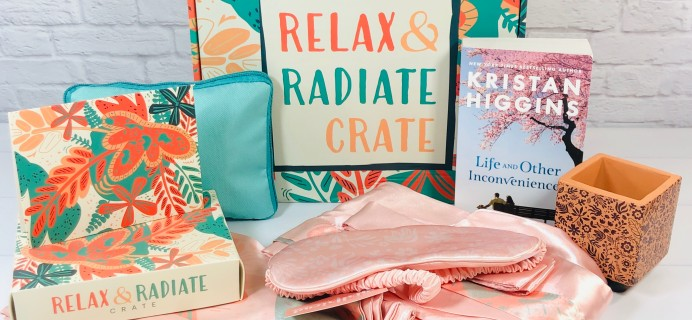 Relax & Radiate Crate Fall 2020 Subscription Box Review