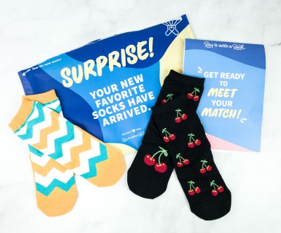 Say It With A Sock Kids September 2020 Sockscription Review + Coupon