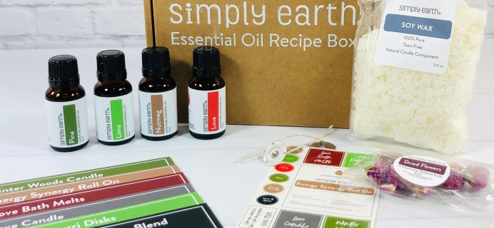 Simply Earth November 2020 Subscription Box Review + Coupons